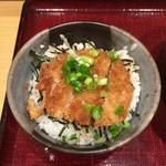 あずみ - ミニヒレカツ丼