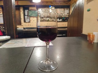 食楽 旨い肴 - チリ産赤ワイン