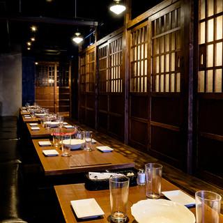 『宴会に最適な個室』お座敷は最大40名様まで!