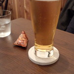 Cafe883 - 付属生ビール