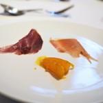 ウシマル - ダイヤモンドポーク・ジャージー牛の生ハム サツマイモ