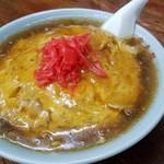 食事処 三平 - 天津麺(600円)です。2016年10月