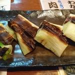 寿司居酒屋 七福 - 下仁田ネギ焼き