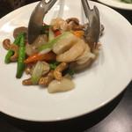中国料理 龍鱗 - 海老とカシュナッツ炒め