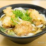てんぼう - とり天うどん(450円)