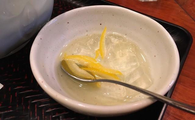 古奈屋 巣鴨本店 - レモンのジュレ