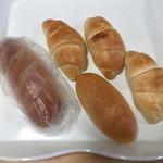 湯まちパン工房 あかり - 料理写真:こんだけ買った