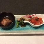 北貝料理 なむら別邸 - 前菜