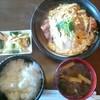 山や - 料理写真:カツ煮定食(税込み1,000円)