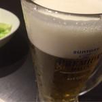 旨唐揚げと居酒メシ ミライザカ - 中生