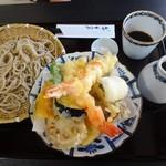 蕎麦・酒 青海波 - 天ぷらせいろ