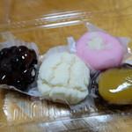 高輪 柳屋 - 生菓子4つで780円