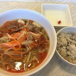 グリーンズカフェ - 野菜千切り麺