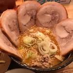 60333371 - 味噌つけ麺チャーシュートッピング