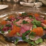 スペインバル エル クルセ - 鯖のオイル漬け