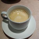 東天閣 - セルフのエスプレッソ(美味い)
