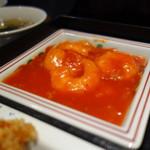 東天閣 - 美味しい海老チリ