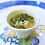 60349552 - 虎河豚の白子の茶碗蒸し