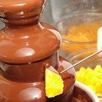 銀ぶた - チョコファウンテン