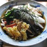 麺処 麦縄 - 料理写真:麦縄ぶっかけうどん650円