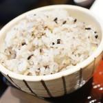 大戸屋 - 五穀米大盛り