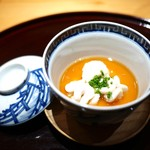 豪龍久保 - 雲子の茶碗蒸し