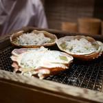 豪龍久保 - 松葉蟹の甲羅焼き