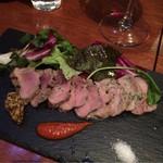 ヒラクヤ オステリア - どろ豚のフィレ肉のソテー✨