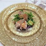 重慶飯店 麻布賓館 - 朱雀門コースの前菜