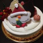 60359507 - ネット予約のクリスマスケーキ小さい方