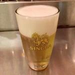 ジャイタイ ナスカ - シンハー生ビール