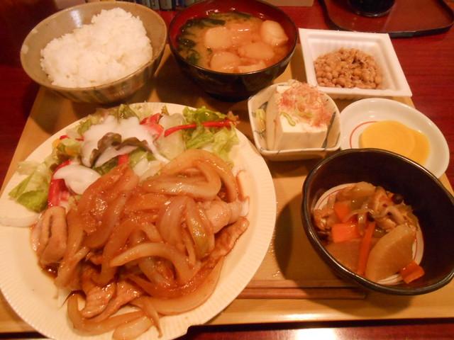 居酒屋ハル(陽) - 豚ロース生姜焼き 700円