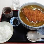 びっくりうどん 三好野 - カツカレーうどん定食 790円