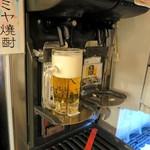 沼津港 海将 - 生ビールは自動