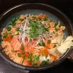 60364367 - 鮭イクラ丼