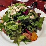 マリスコ - コース料理「バルサミコ酢で甘酸っぱくソテーした牡蠣とフレッシュグリーンサラダ」(4人分)(2016年12月)