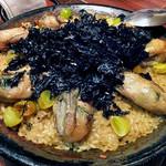マリスコ - コース料理「銀杏と海苔をちらした旨味たっぷり牡蠣のパエージャ」(4人分)(2016年12月)