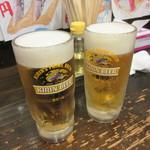 60365333 - 生ホッピーと生ビール