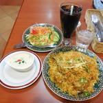 ハビビ ハラル レストラン - ...「Chicken Biriyani(1000円)」、サラダ・ドリンク付!うめ~★