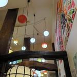 海鮮個室居酒屋 とらや - 高い天井