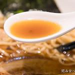 うまい麺には福来たる - スープ(魚介醤油)