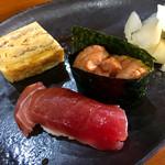 鮨司 吉竹 - ウニは 松川産 ♪  甘いです