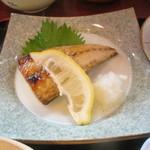 割烹 川松 - 鯖の塩焼き