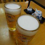 和食処 こばやし - 生ビール