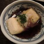 元町 梅林 - お餅の揚げ煮込み