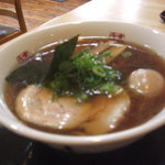 日歩未 - 味玉(名古屋コーチン)醤油ラーメンです。
