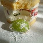 サロン・ド・テ・ミュゼ イマダミナコ - (2016/11月)「プリンセス風ショートケーキ」
