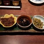 黄桜酒場 - 総菜5種盛り 1000円?