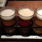 黄桜酒場 - ビール飲み比べ