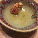 七隈園 - 地鶏塩ですが柔らかくて旨い